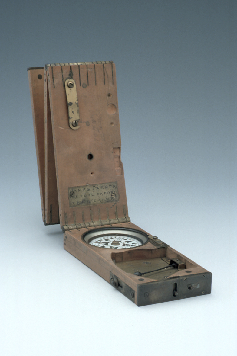 preview image for James Parker's Compass and Clinometer, English, c. 1865