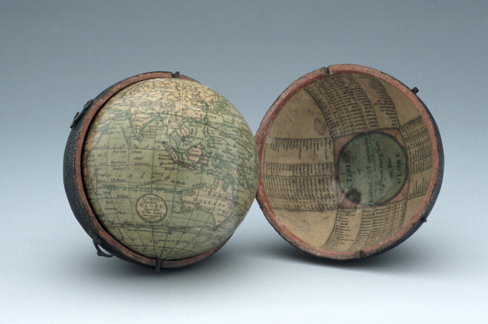 preview image for Pocket Terrestrial Globe, by J. & W. Cary, London, 1791