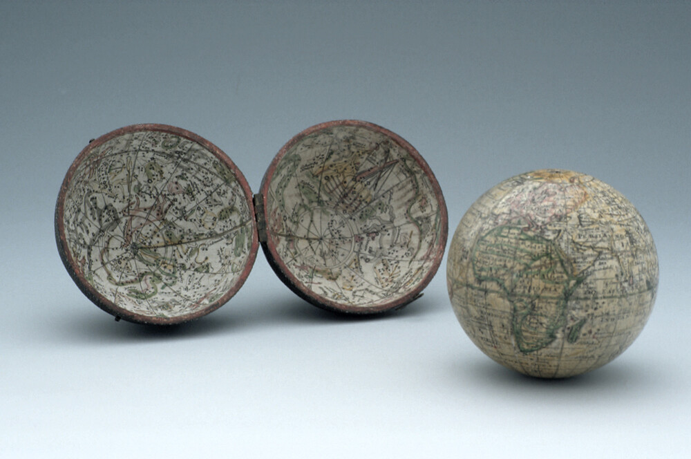 preview image for Pocket Terrestrial and Celestial Globe, English, c. 1775