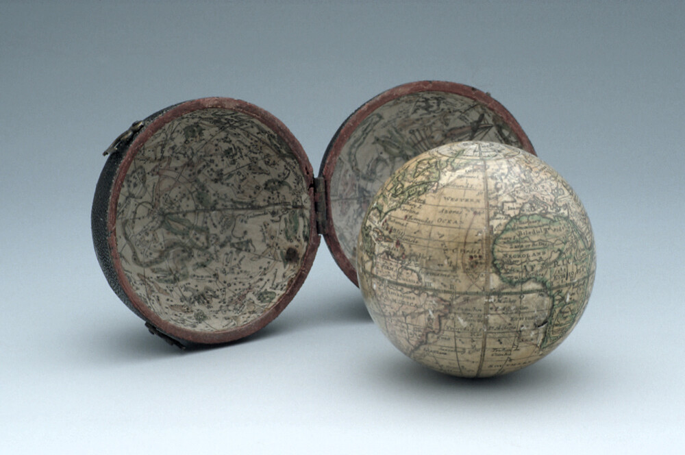 preview image for Pocket Terrestrial and Celestial Globe, English, c.1775