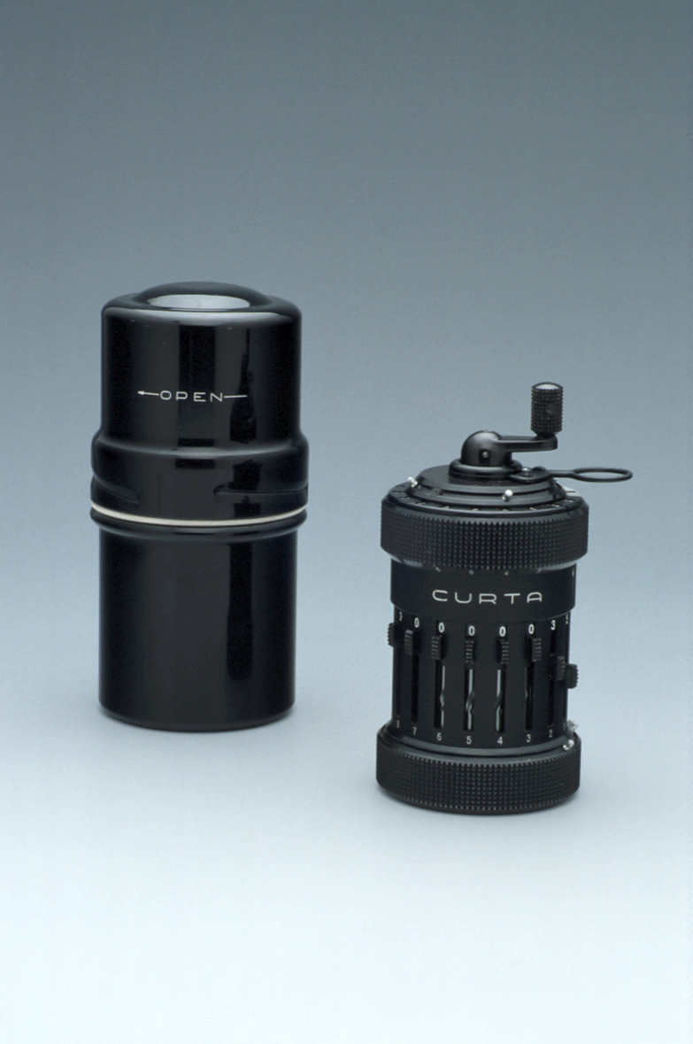 preview image for Curta Mechanical Calculator Type I, by Contina, Liechtenstein, c. 1950
