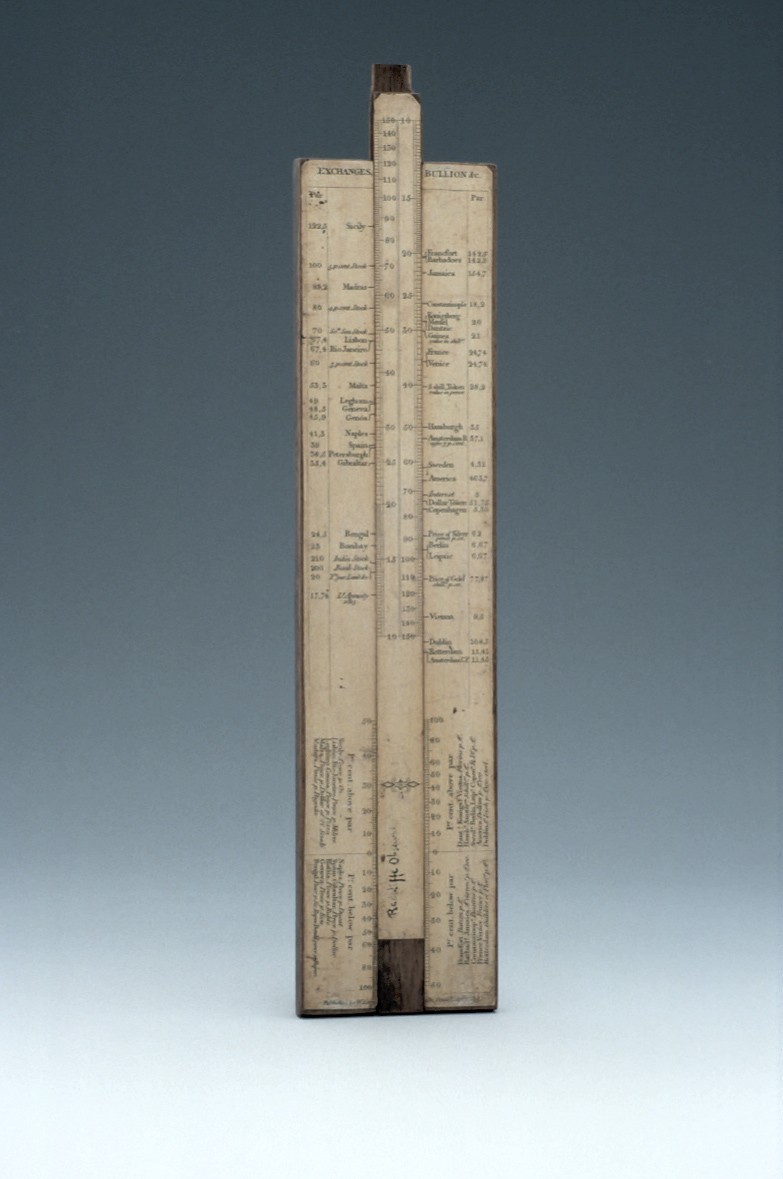 preview image for Slide Rule for Weights, Measures and Currency, by W. Cary, London, 1815