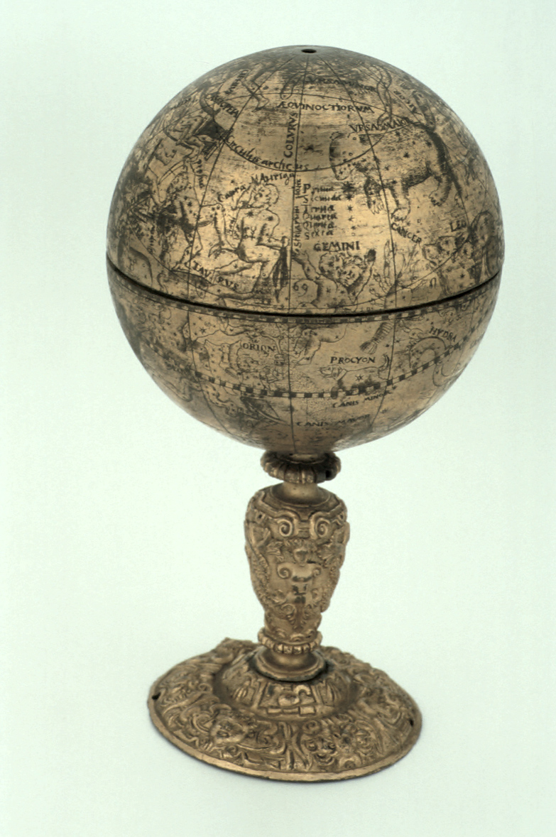 preview image for Celestial Globe and Scaphe Dial, by HRD?, German, Late 16th Century