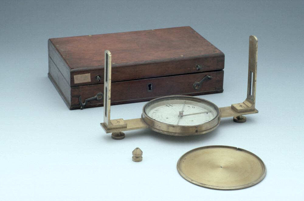 preview image for Miner's Compass and Clinometer, by Elliott Brothers, London, 1850s