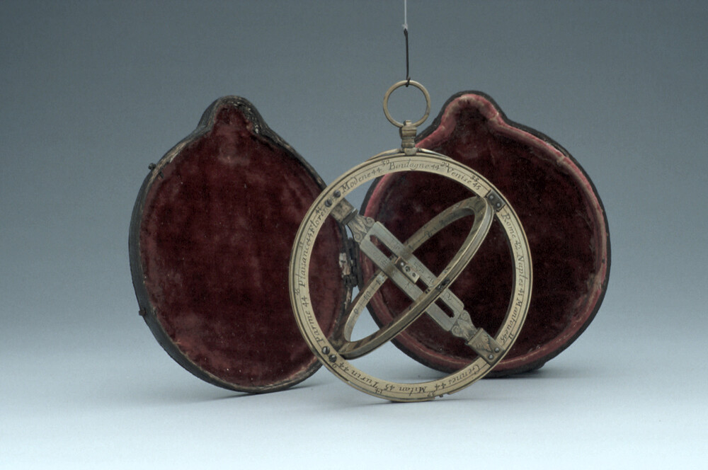 preview image for Equinoctial Ring Dial with Quadrant, by Michael Butterfield, Paris, Late 17th Century