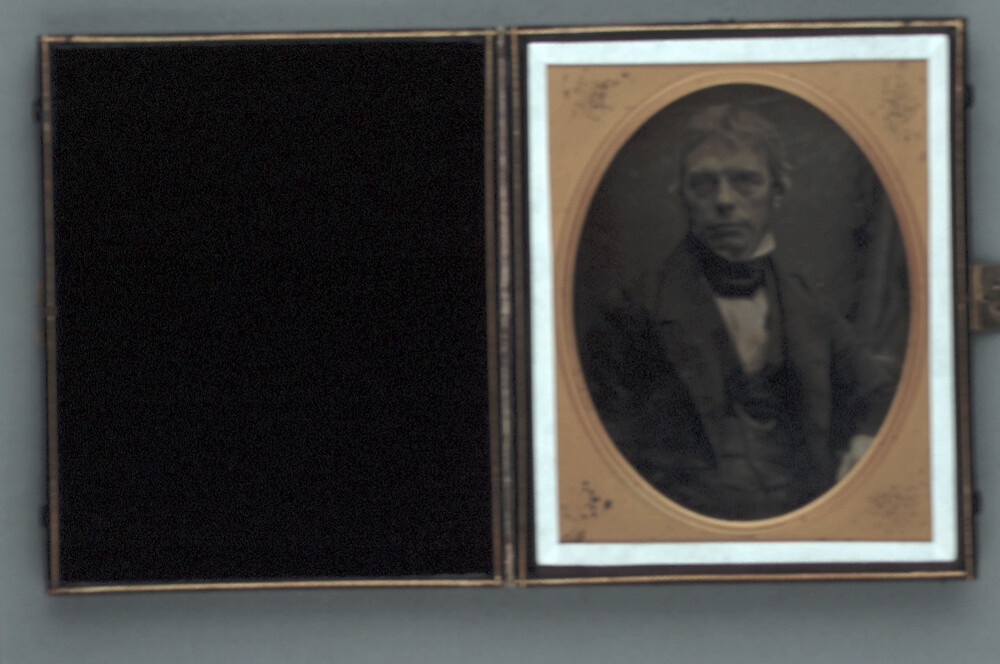 preview image for Photograph (Daguerreotype) of Michael Faraday, by Antoine Claudet, Late 1840s