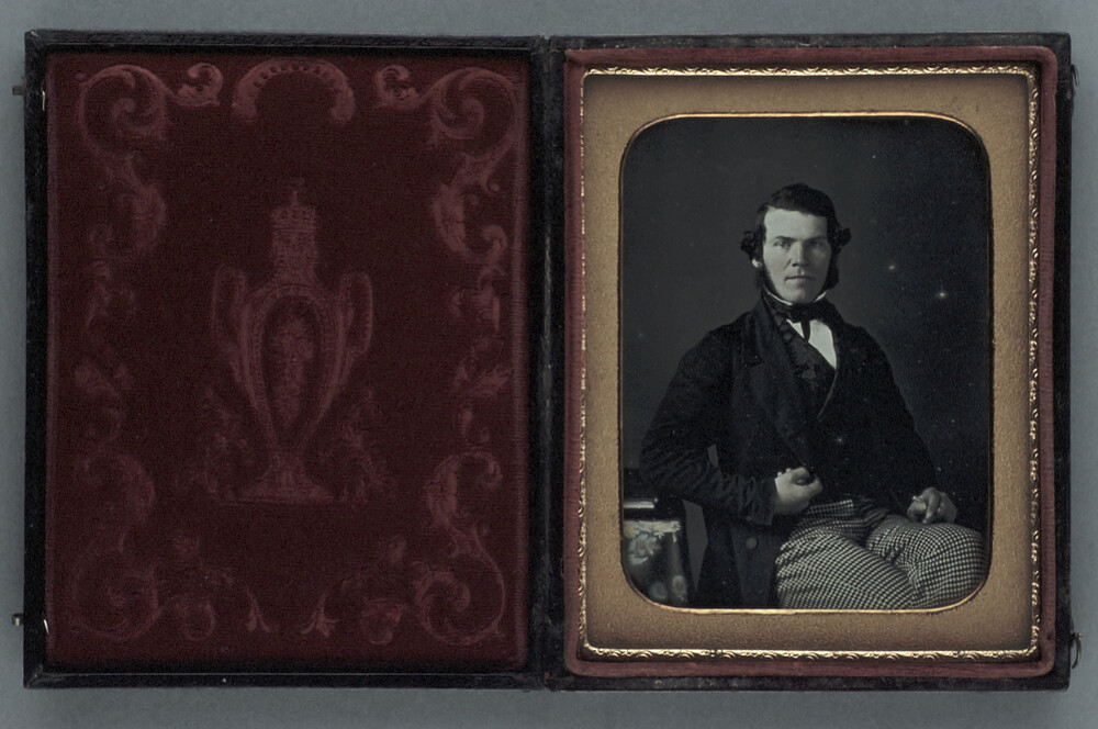 preview image for Photograph (Daguerreotype) of a Man, c.1850