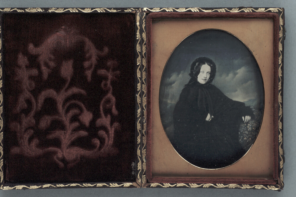preview image for Photograph (Daguerreotype) of a Woman, by Sarony & Baum, c.1850