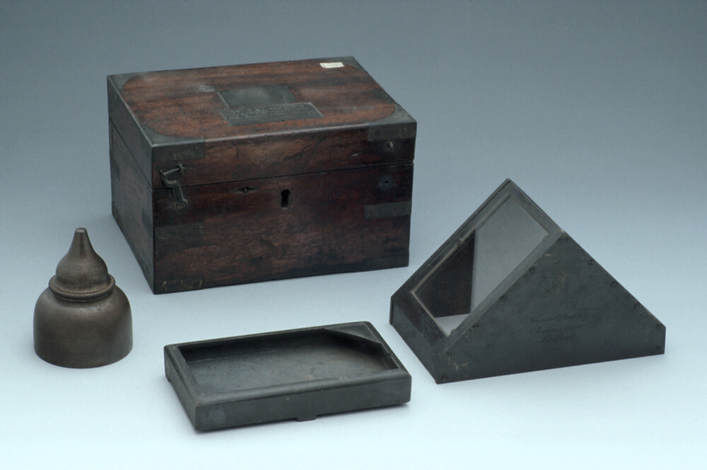 preview image for Mercury-Type Artificial Horizon, by Thomas Jones, London, c. 1840