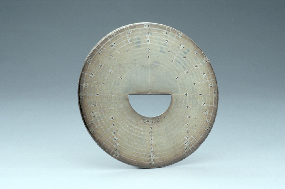 preview image for Disc Protractor, by John Marke, London, c. 1670