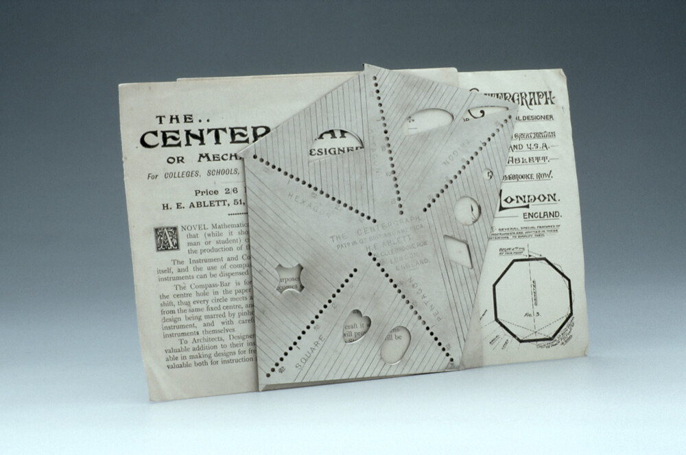 preview image for Centergraph Drawing Instrument, by H. E. Ablett, London, Early 20th Century