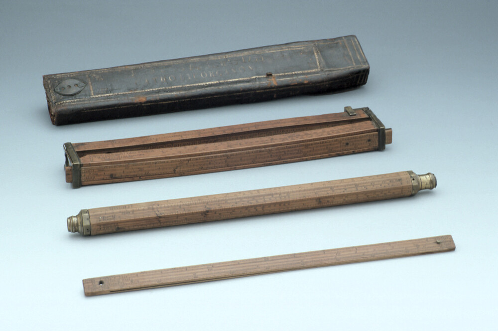 preview image for Case for a Suxspeach Universal Slide Rule, London, 1755