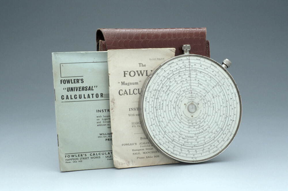 preview image for Circular Slide Rule, by Fowler & Co., Manchester, Early 20th Century