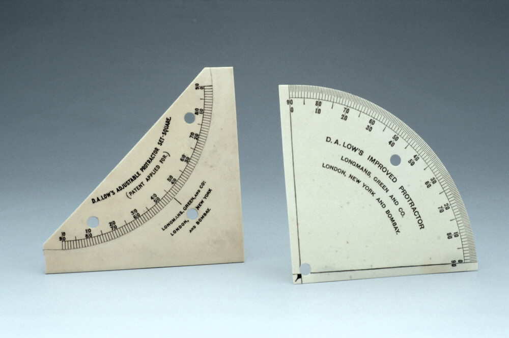 preview image for Protractor, D.A. Low's Improved, Longmans, Green & Co, London, 20th Century