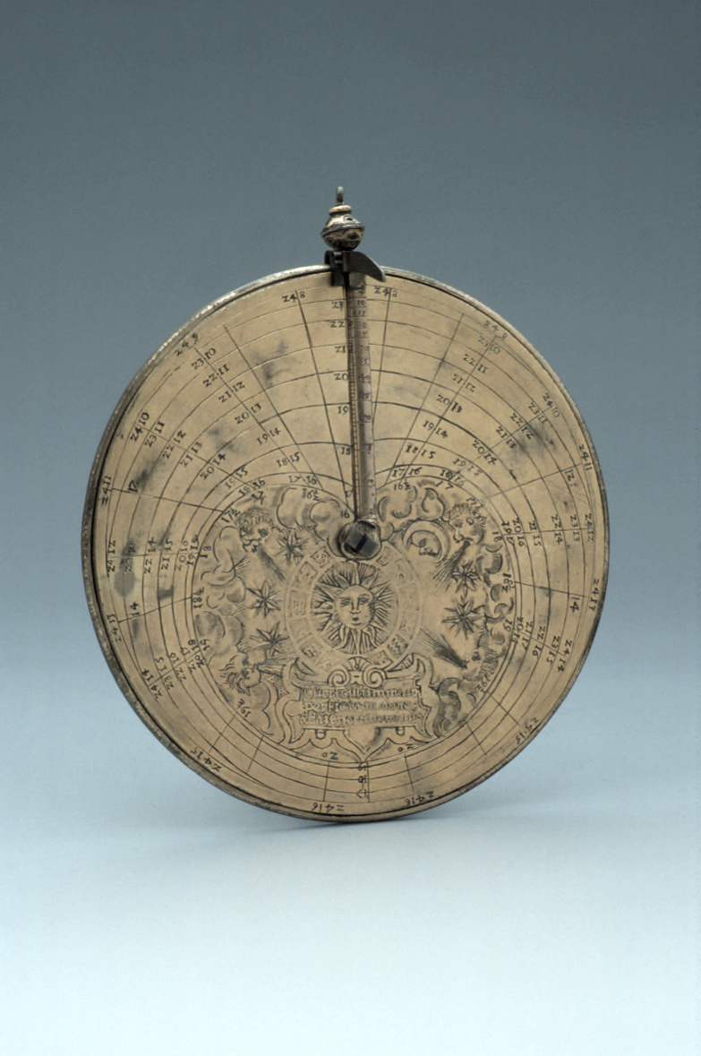 preview image for Vertical Disc Dial, Nuremberg?, c. 1570
