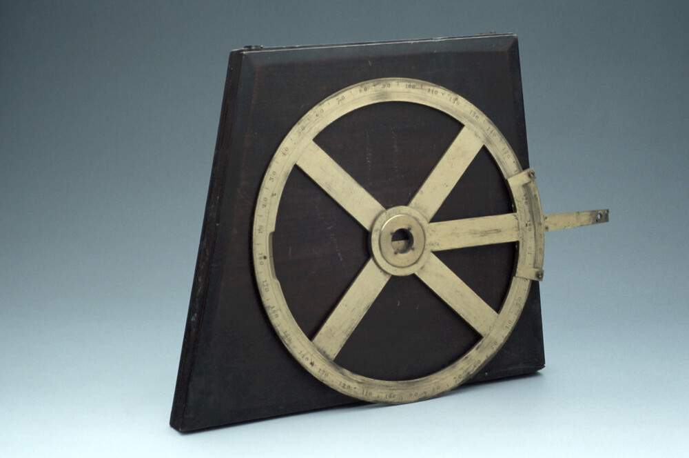 preview image for Circular Protractor, by J. Sisson, London, 18th Century