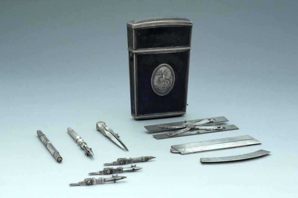 preview image for Set of Drawing Instruments, by Richard Glynne, London, Early 18th Century