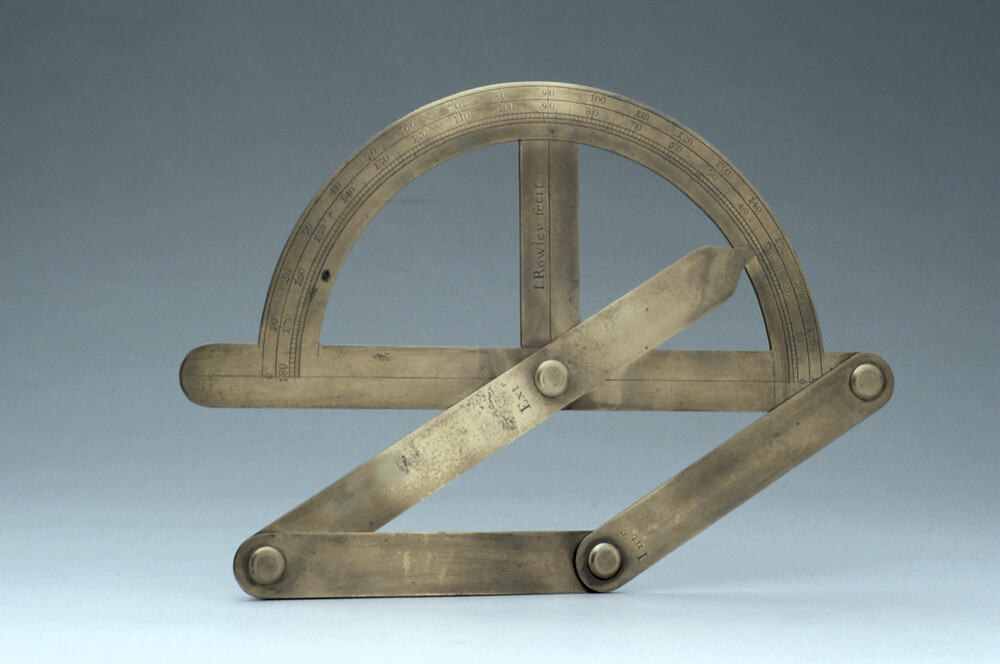 preview image for Parallelogram Protractor, by John Rowley, London, c. 1700