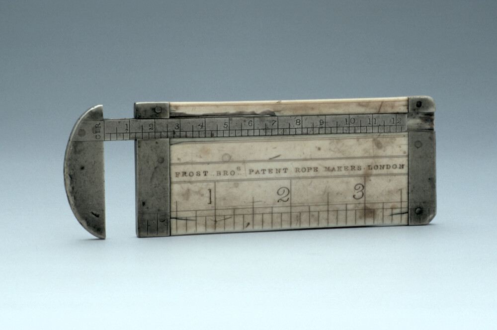 preview image for Rope-Maker's Gauge, by Frost Brothers, London, 19th Century