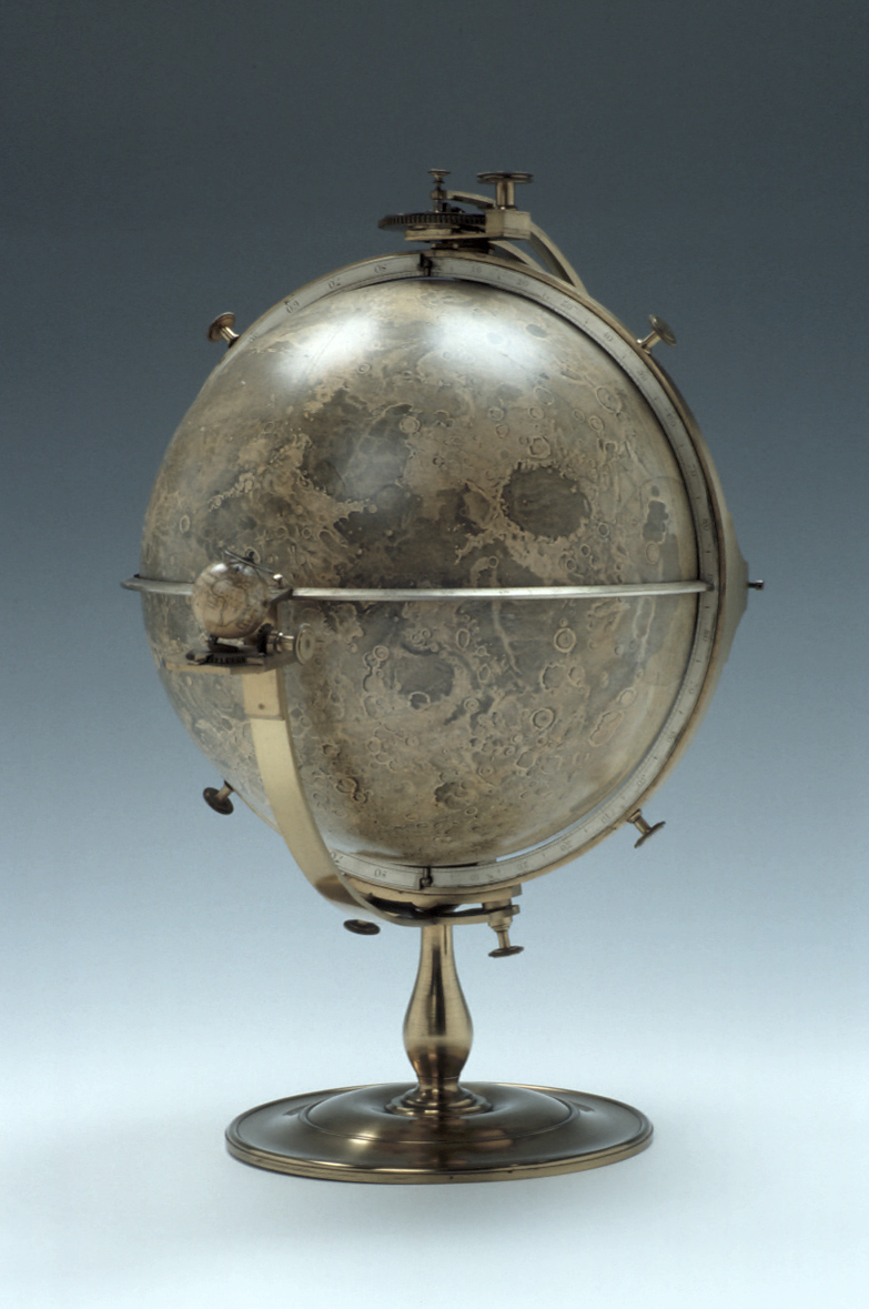preview image for Selenographia Moon Globe and Base, by John Russell, London, 1797