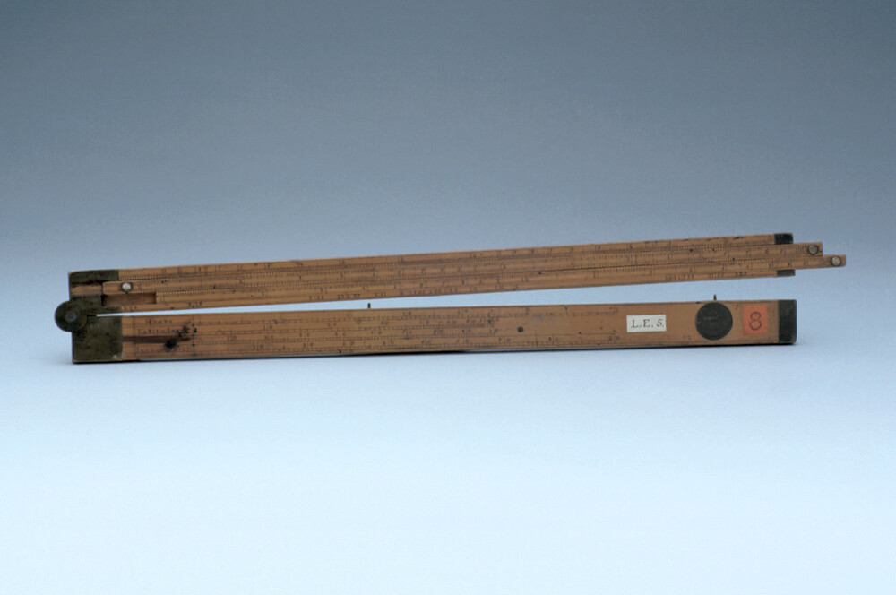 preview image for Sector with Double Slide Rule, by Wood and Lort, Birmingham, c. 1840