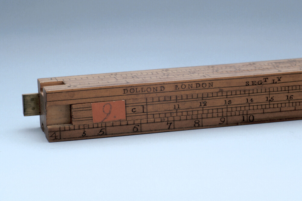 preview image for Gauging Slide Rule, by Dollond, London, 19th Century