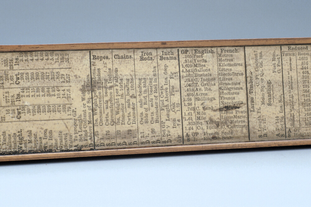 preview image for Engineer's Slide Rule, by Hoare, London, 19th Century