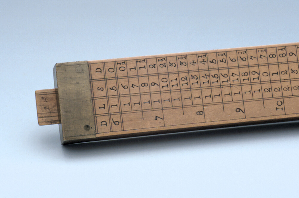 preview image for Gauging Slide Rule, English, 18th Century