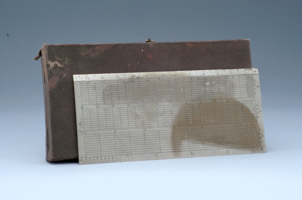 preview image for Diagonal Plotting Scale, by T. M., Late 19th Century?