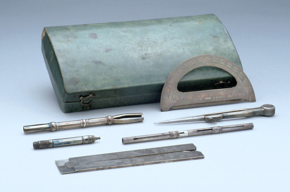 preview image for Set of Drawing Instruments, by Claude Langlois, Paris, c. 1740