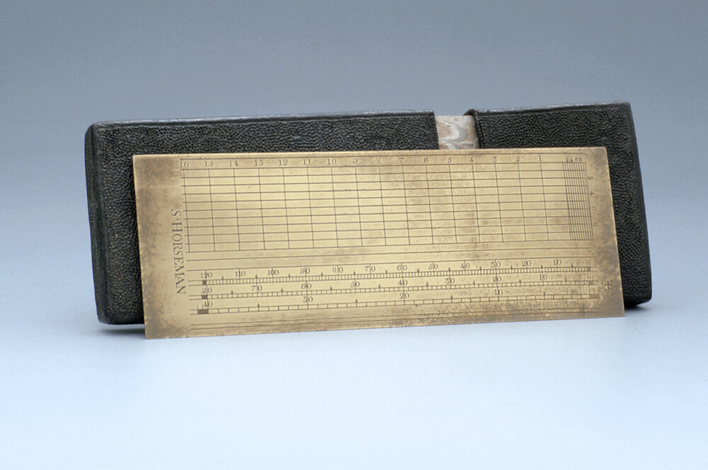 preview image for Plotting Scale, 5-inch, by S. Horseman, English, Early 18th Century