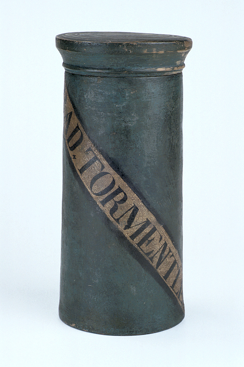 preview image for Turned Wood Container, Continental, 18th Century