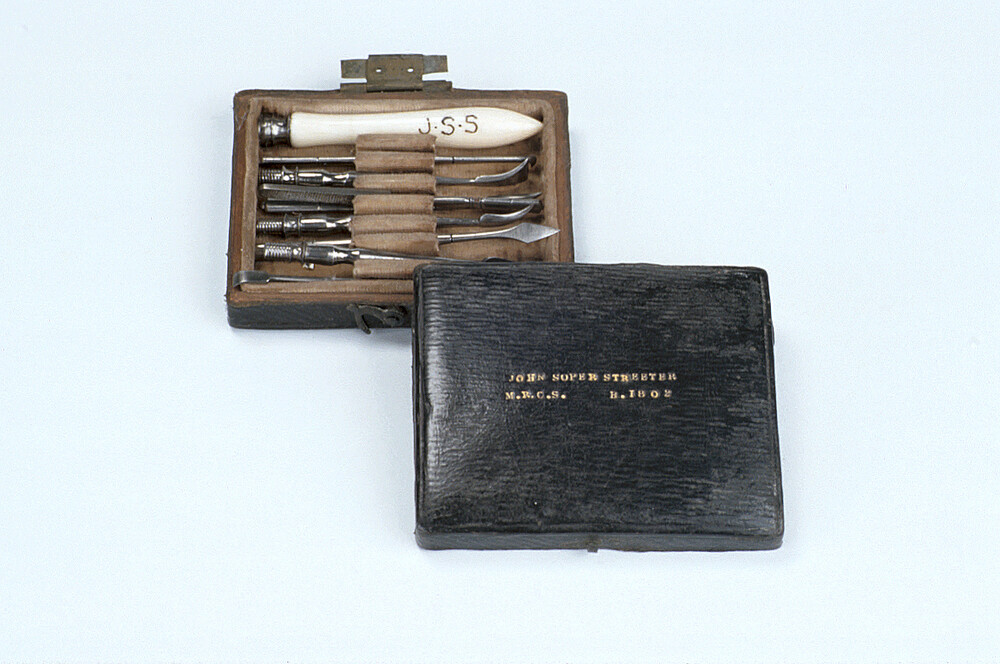 preview image for Dental Scaling Set, Used by John Soper Streeter, English, c. 1840