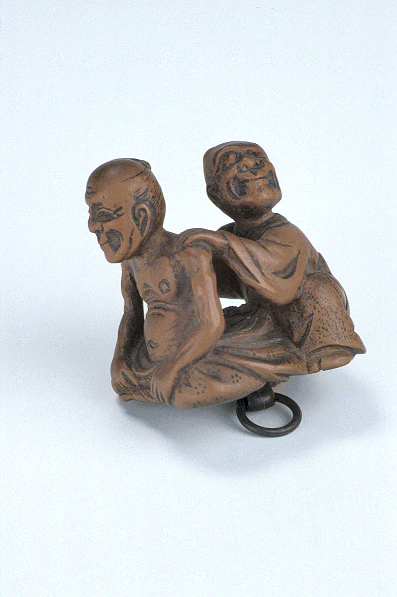 preview image for Netsuke of Patient Undergoing Massage, Japan