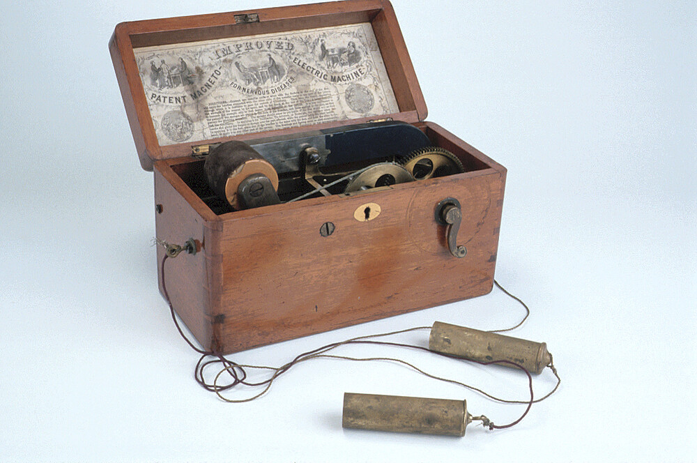 preview image for Medical Magneto-Electric Machine, by Joseph Gray & Co, Sheffield, c. 1880