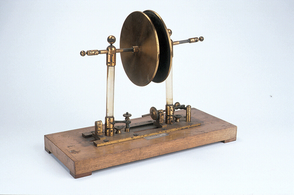 preview image for Double Plate Electrostatic Condenser, English, c. 1900