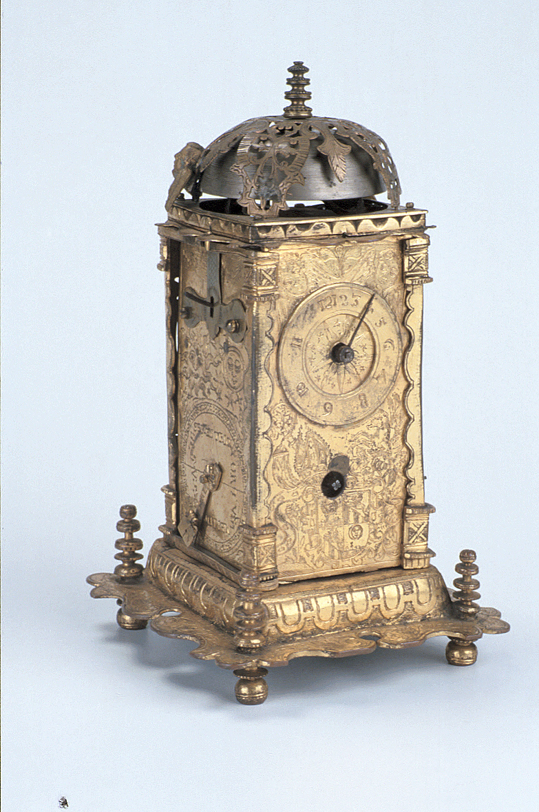 preview image for 'Tower' Table Clock, by 'HP' or 'HR', German, 17th Century