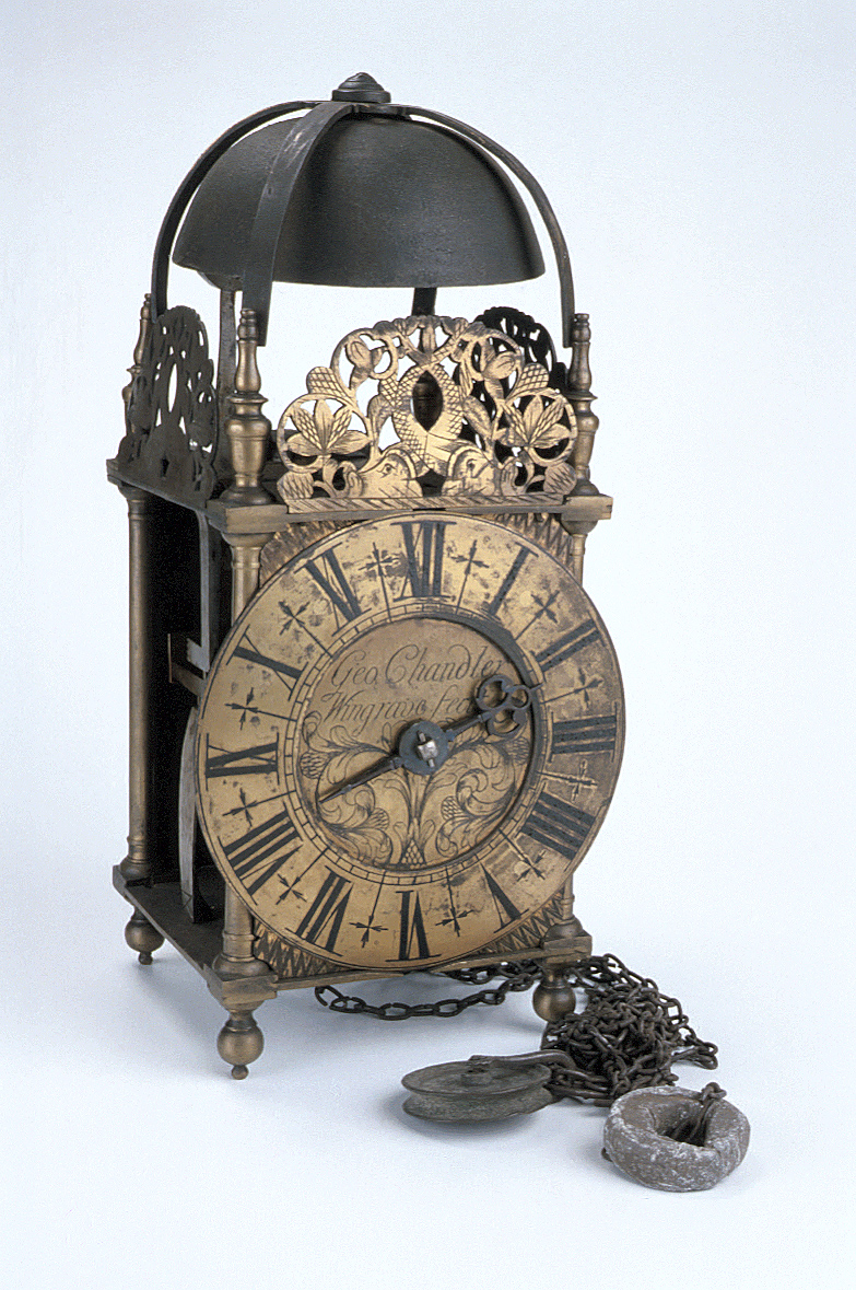 preview image for Lantern Clock, by George Chandler, Wingrave, English, c. 1710