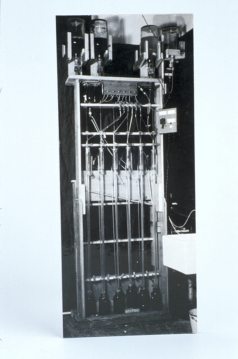 preview image for Reproduction of a Photograph of the Penicillin Counter Current Apparatus, 1941