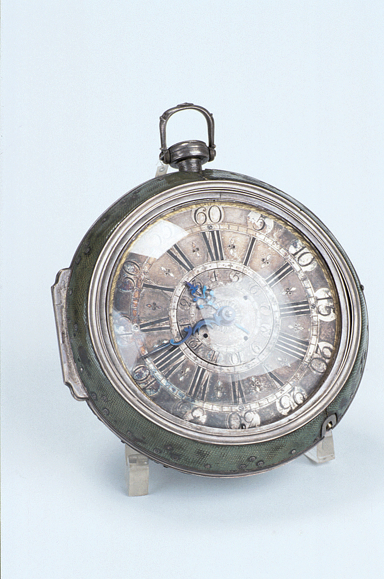 preview image for Travelling Clock-Watch, by Haas Le Fils, Berne, Switzerland, 18th Century