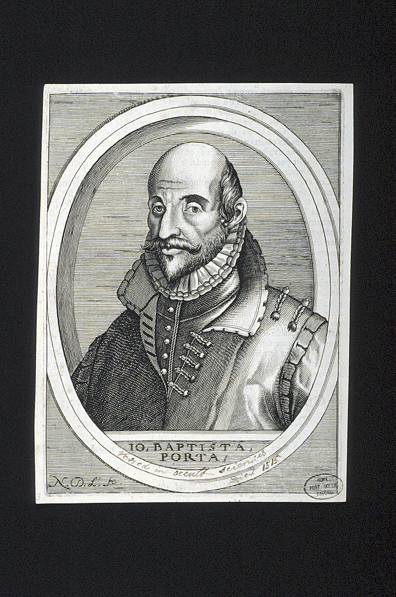 preview image for Print (Engraving) of Giambattista della Porta by Nicolas de Larmessin, France, 17th Century