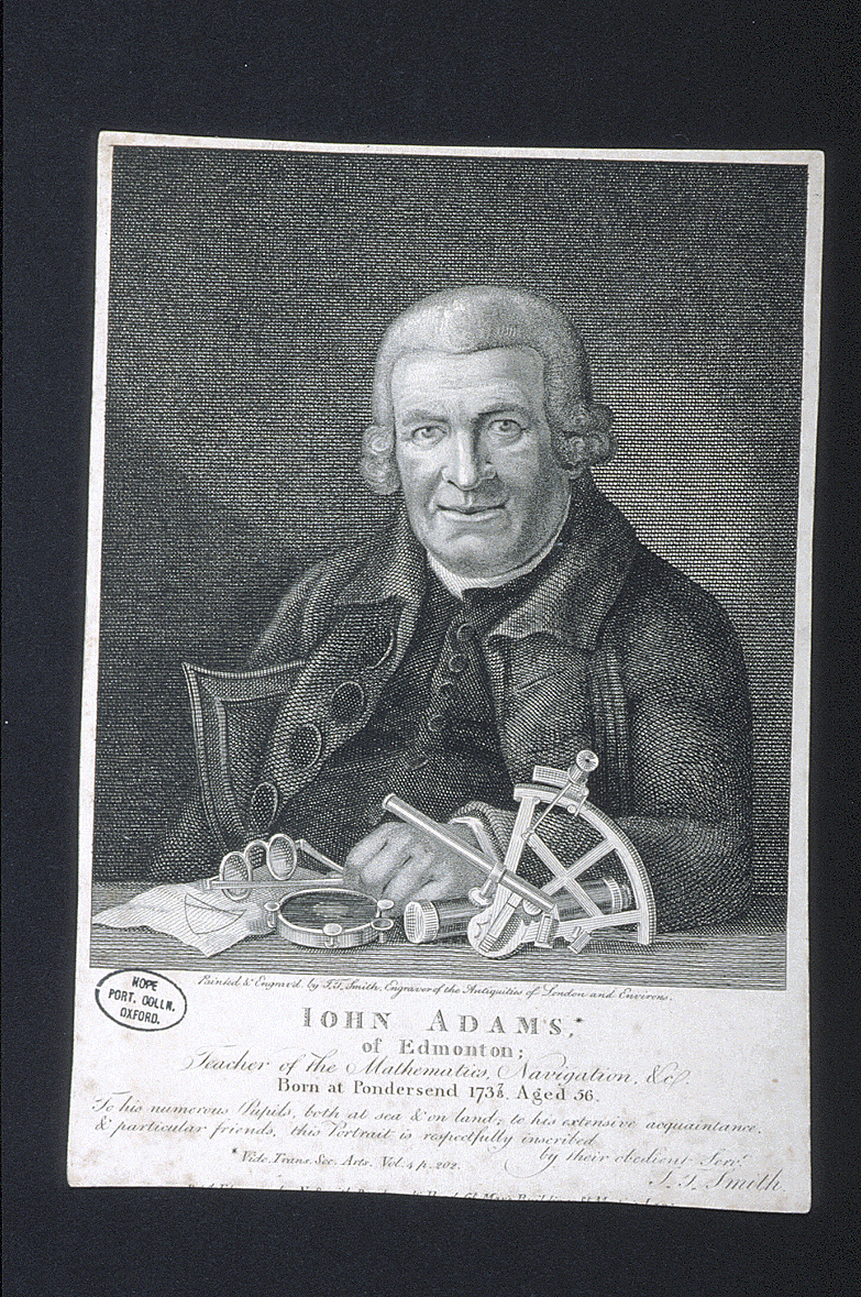 preview image for Print (Engraving) John Adams, by J. T. Smith, London, c. 1790