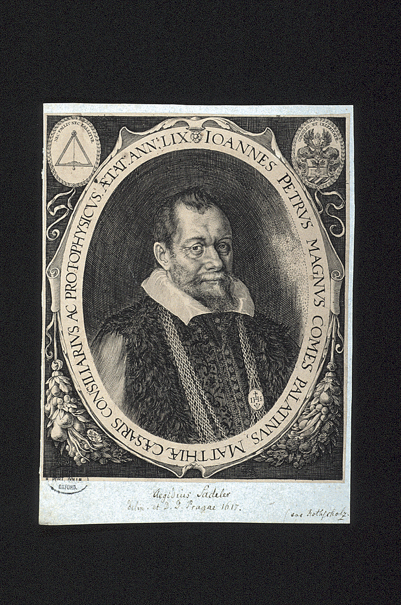 preview image for Print (Engraving) of Johannes Petrus Magnus by Aegidius Sadeler, Prague, 1617