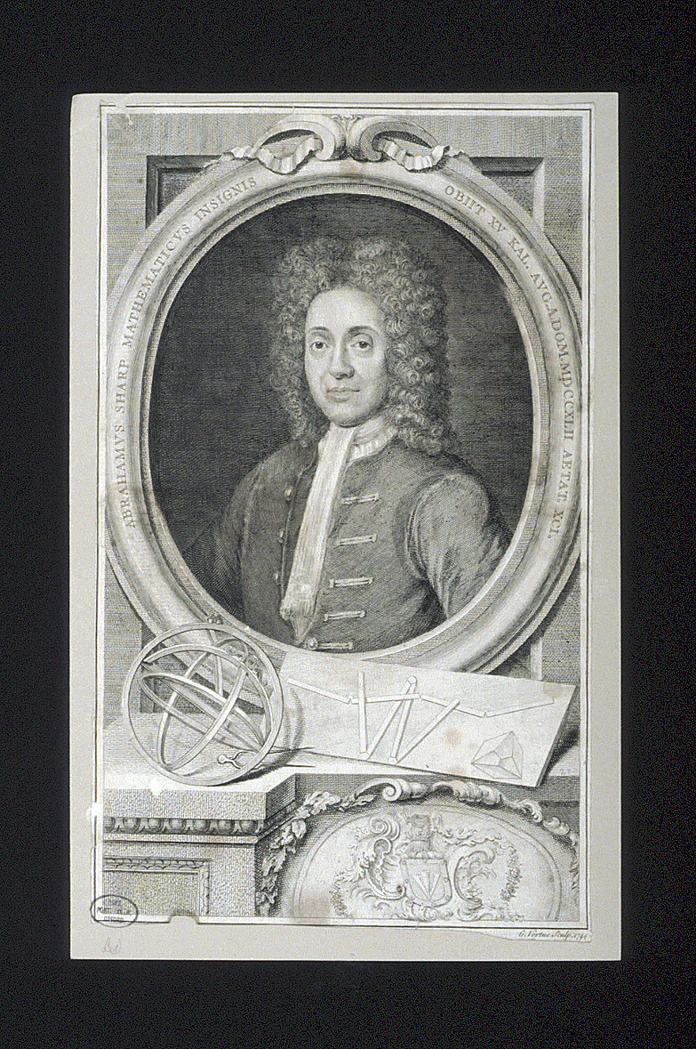preview image for Print (Engraving) of Abraham Sharp by G. Vertue, London 1744