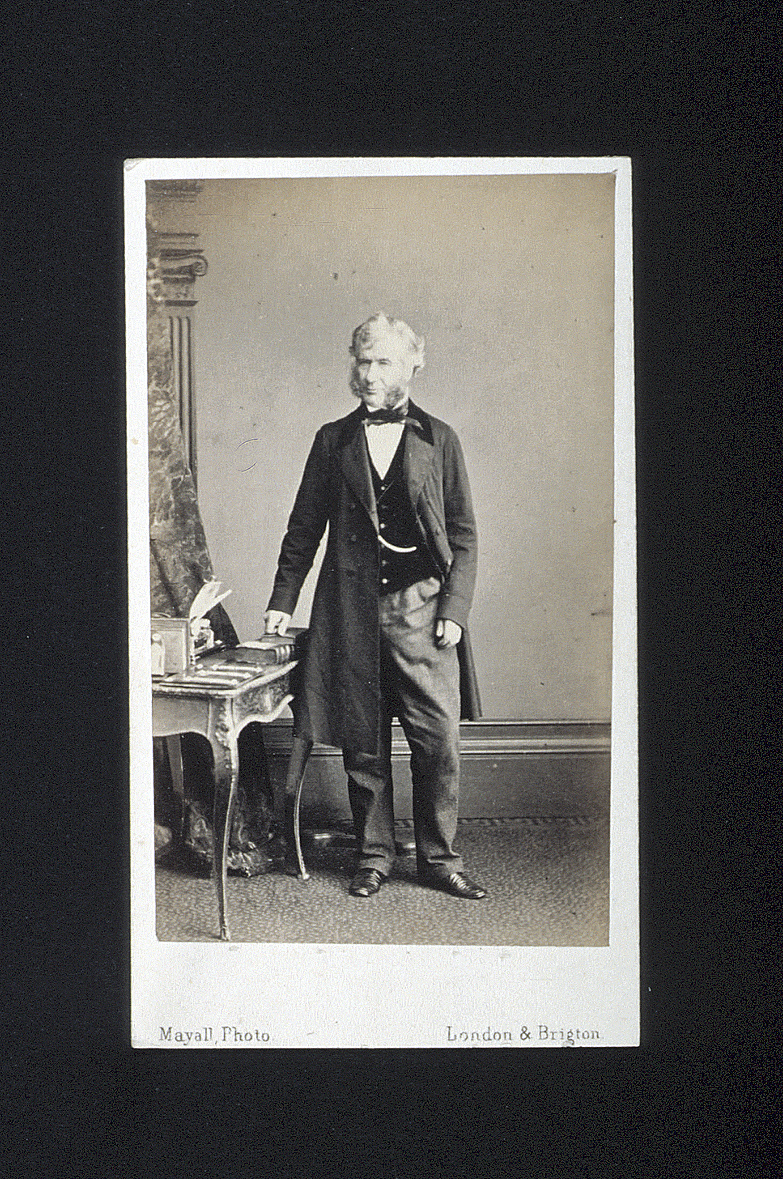 preview image for Photograph (Albumen Print, Carte de Visite) of William Harvey FRCS, by Mayall, London, Early 1860s
