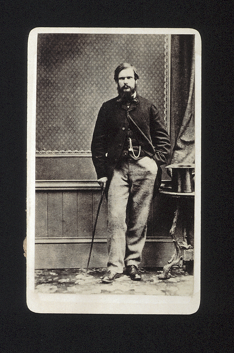 preview image for Photograph (Albumen Print, Carte de Visite) of T. H. T. Hopkins, c.1870