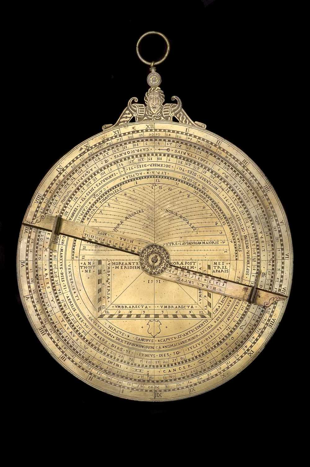 preview image for Universal Astrolabe, by Anthoine Mestrel, Paris, 1551