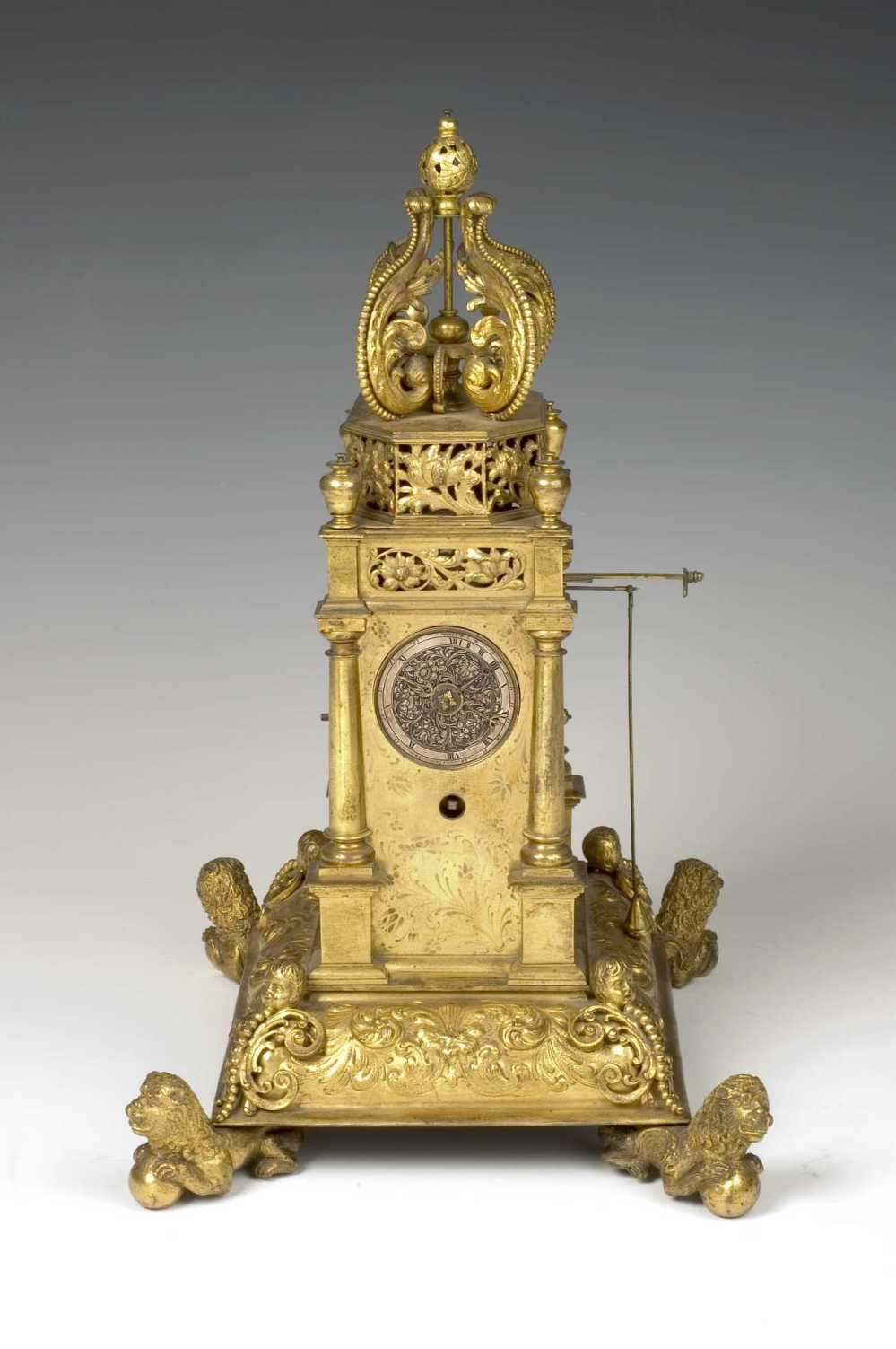 preview image for Astrolabe Clock, by Johann Leonhardt Bommel, Nuremberg, c. 1686?