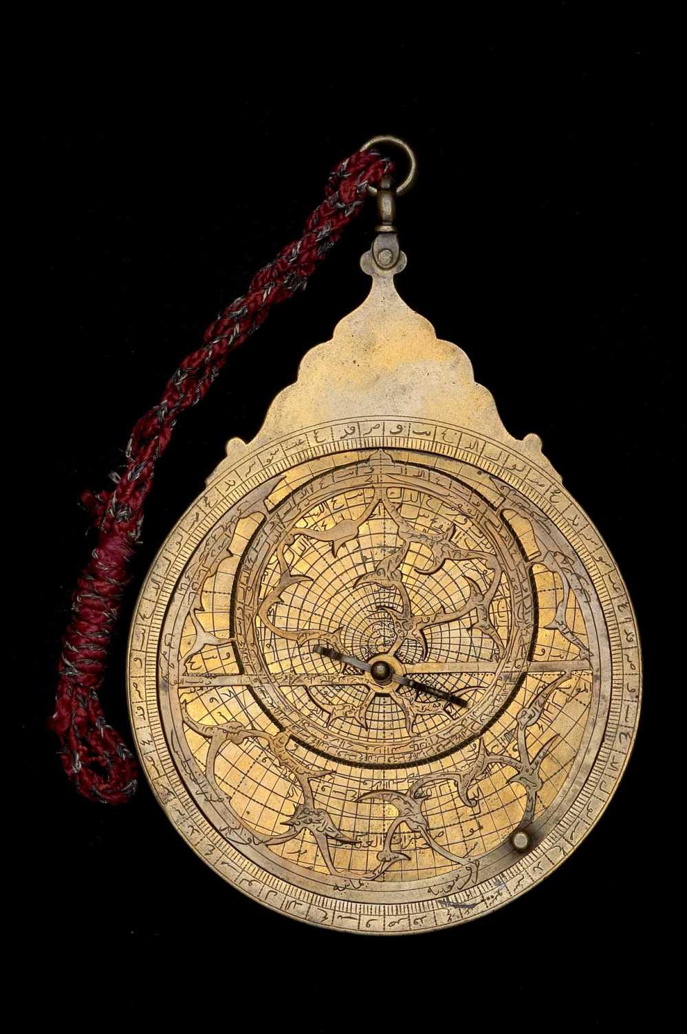 preview image for Astrolabe, by Diya al-din ibn Qaim Muhammad, Indo-Persian, 1653/4