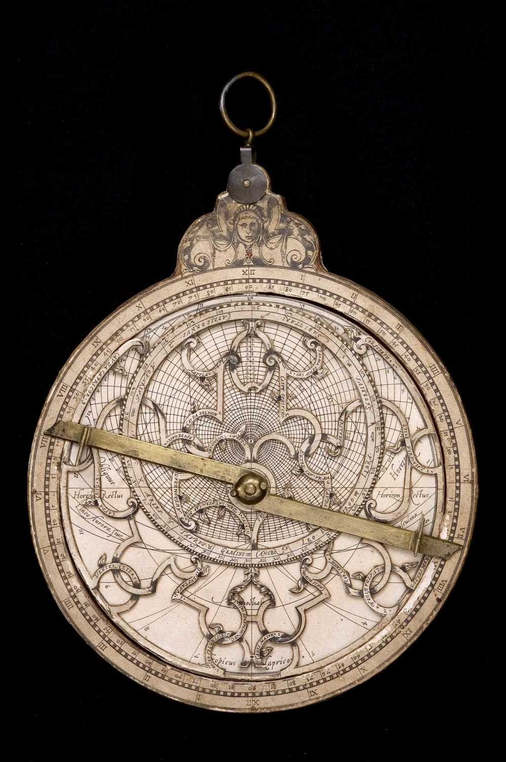preview image for Paper Astrolabe, by Philippe Danfrie, Paris, 1584